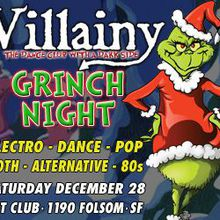 VILLAINY: Grinch Night