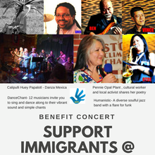 Support ICE Detainees - Benefit Concert