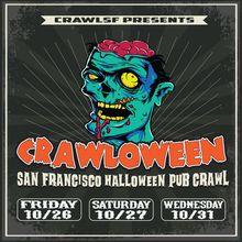 San Francisco Halloween Bar Crawl
