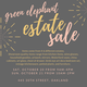 Green Elephant Estate Sale