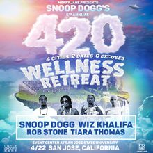 Snoop Dogg & Wiz Khalifa:  420 Wellness Retreat Tour