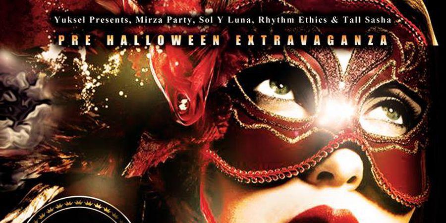 A Red Carpet Halloween Masquerade Ball At Starlight Room