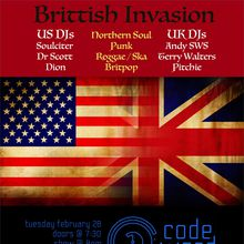 Brittish Invasion at Codeword