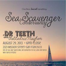 One Brick Social Benefitting Sea Scavenger Conservancy