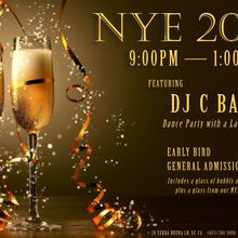 NYE Fanciest Dance Party (with a Latin Twist)