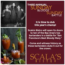 Scala's Bistro: Bloody Mary Battle