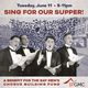 Sing for Our Supper Benefit Supports The San Francisco Gay Men's Chorus