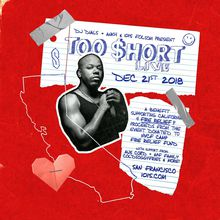 TOO SHORT (LIVE): Benefit Supporting California Fire Relief at 1015 FOLSOM