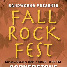 Bandworks Presents: Fall Rock Fest