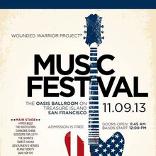Veteran's Day FREE Music Festival