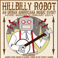 HiLLBiLLY ROBOT: The Harmed Brothers + The Vivants