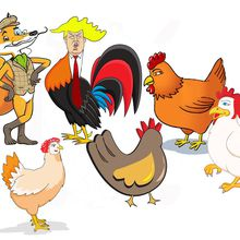 """Fox Among the Hens"" - Trumpet the Rooster Gets Outfoxed"