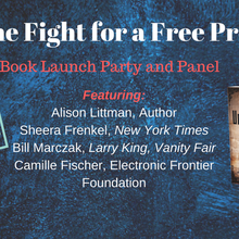 The Fight for a Free Press: Book Launch & Panel