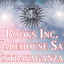 Warehouse Sale Extravaganza at Books Inc. HQ!