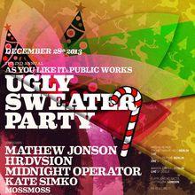 Ugly Sweater Party Feat. Mathew Jonson, Hrdvsion, Ewan Pearson & Kate Simko