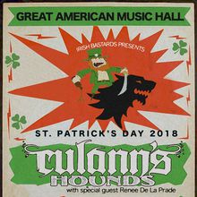 St. Patrick's Day Extravaganza w/Culann's Hounds + Lucia Comnes + One Grass Two Grass