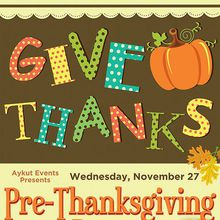 Pre-Thanksgiving Party