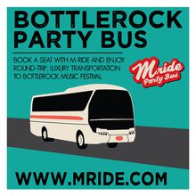 BottleRock Napa Shuttle Bus