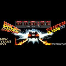 Back To The Future NYE Party, $3 Drinks, & Fireworks Viewing! The Future is Now.