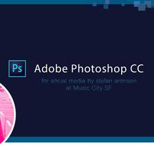 Photoshop for Social Media by Stefan Aronsen