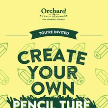 Decorate Your Own Pencil Case at Orchard Supply Hardware