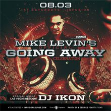 Mike Levin's Official Going Away Party