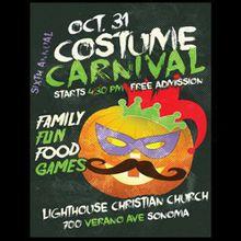 6th Annual Sonoma Costume Carnival (Free)