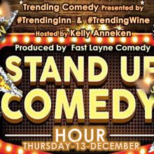 Comedy Happy Hour at Trending Inn!