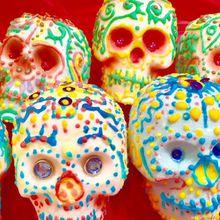 Mexican Sugar Skull Art Class at the Mexican Toritilla Factory