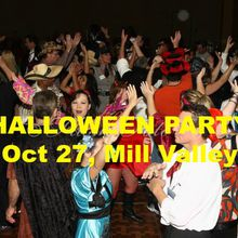 Marin Singles Halloween Costume Party & Dance