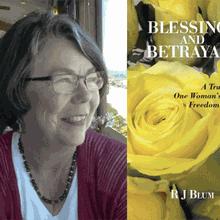 R J Blum at Books Inc. Mountain View