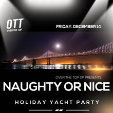 Naughty or Nice: Holiday Yacht Party