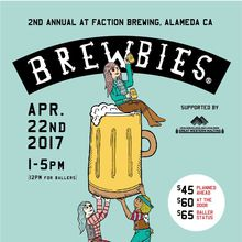 Brewbies 2nd Annual Craft Beer Festival at Faction Brewing