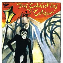 The Cabinet of Dr. Caligari, with Live Piano!