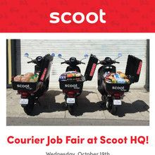 Courier Night at Scoot HQ