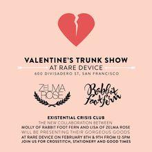 Valentine's Trunk Show