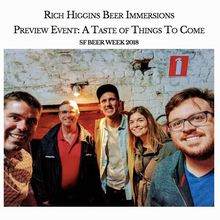 Rich Higgins Beer Immersions