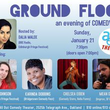 Ground Floor – an evening of comedy