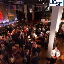 UCSF Homeless Clinic Happy Hour at the Mina Art Gallery