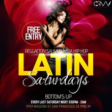 Latin Saturday's
