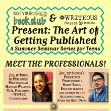 The Art of Getting Published for Teens Session 4 at Books Inc. Opera Plaza