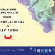 Fisherman's Wharf Annual Crab Feed Event - A Kick Off to Mardi Gras!