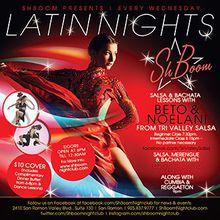 Latin Nights - Dance Lessons & DJ Dancing