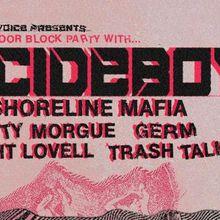 An Outdoor Block Party feat. $UICIDEBOY$, Shoreline Mafia, City Morgue, GERM, Night Lovell, Trash Talk