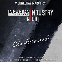 Claksaarb at #IndustryNight