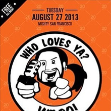 Who Loves Ya?  We Do!  Thank You, Chuy Gomez - Free Event