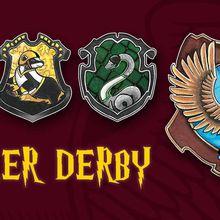 Gryffinpuff vs Slytherclaw: A Magical Night of Roller Derby