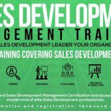 Sales Development Management Training San Francisco February 21st 2019