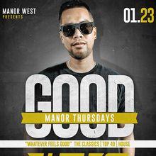 Good Manor Thursdays feat. The Les