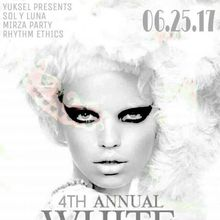 The Annual W HOTEL WHITE PARTY - Dress up in your favorite White Attire!